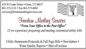 Freedom Mailing